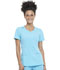 Photograph of Infinity by Cherokee Women's Round Neck Top Blue 2624A-TRQ
