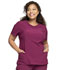 Photograph of Infinity Women's Round Neck Top Red 2624A-WNPS