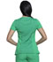 Photograph of Infinity Women's Mock Wrap Top Green 2625A-BTGE