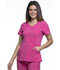 Photograph of Infinity Women Mock Wrap Top Pink 2625A-CPPS