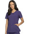 Photograph of Infinity by Cherokee Women's Mock Wrap Top Purple 2625A-GRP