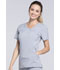Photograph of Infinity Women Mock Wrap Top Gray 2625A-GRY
