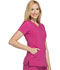 Photograph of Infinity Women's Mock Wrap Top Purple 2625A-POBR