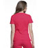 Photograph of Cherokee Infinity Women's Mock Wrap Top Red 2625A-PUNC