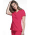 Photograph of Infinity Women's Mock Wrap Top Red 2625A-PUNC