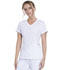 Photograph of Infinity Women's Mock Wrap Top White 2625A-WTPS