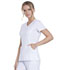Photograph of Infinity Women Mock Wrap Top White 2625A-WTPS