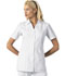 Photograph of Cherokee Whites Women\'s Button Front Top White 2879-WHT