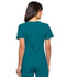 Photograph of Flexibles Women's V-Neck Knit Panel Top Blue 2968-CABB