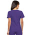 Photograph of Flexibles Women V-Neck Knit Panel Top Purple 2968-GRPB