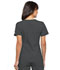 Photograph of Flexibles Women's V-Neck Knit Panel Top Black 2968-PWTB