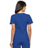 Photograph of Flexibles Women's V-Neck Knit Panel Top Blue 2968-RYLB