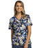 Photograph of Cherokee Flexibles Women's Mock Wrap Knit Panel Top Bouquet Brilliance 2988C-BBBR