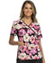 Photograph of Cherokee Flexibles Women's Mock Wrap Knit Panel Top Blossoming Beauty 2988C-BBEA