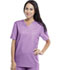 Photograph of Workwear WW Flex Unisex Unisex V-Neck Top Purple 34777A-VBOW