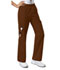 Photograph of WW Core Stretch Women's Mid Rise Pull-On Pant Cargo Pant Brown 4005-CHCW