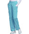 Photograph of WW Core Stretch Women's Mid Rise Pull-On Pant Cargo Pant Blue 4005-TRQW