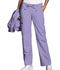 Photograph of WW Originals Women's Low Rise Drawstring Cargo Pant Purple 4020-ORCW