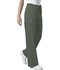 Photograph of WW Core Stretch Unisex Unisex Drawstring Cargo Pant Green 4043-OLVW