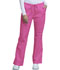 Photograph of WW Core Stretch Women\'s Mid Rise Drawstring Cargo Pant Pink 4044T-SHPW