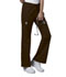 Photograph of WW Core Stretch Women's Mid Rise Drawstring Cargo Pant Brown 4044-CHCW