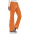 Photograph of WW Core Stretch Women's Mid Rise Drawstring Cargo Pant Orange 4044-PUNW