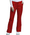 Photograph of WW Core Stretch Women's Mid Rise Drawstring Cargo Pant Red 4044-REDW