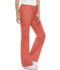 Photograph of WW Core Stretch Women's Mid Rise Drawstring Cargo Pant Orange 4044-SUNW