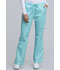 Photograph of WW Core Stretch Women's Mid Rise Drawstring Cargo Pant Blue 4044-TAST