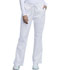 Photograph of WW Core Stretch Women's Mid Rise Drawstring Cargo Pant White 4044-WHTW