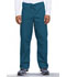 Photograph of WW Originals Unisex Unisex Drawstring Cargo Pant Blue 4100-CARW