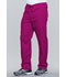Photograph of WW Originals Unisex Unisex Drawstring Cargo Pant Red 4100-RASW