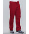Photograph of WW Originals Unisex Unisex Drawstring Cargo Pant Red 4100-REDW