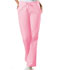 Photograph of WW Originals Women's Natural Rise Flare Leg Drawstring Pant Pink 4101-PKBW