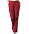 Photograph of WW Originals Women's Natural Rise Flare Leg Drawstring Pant Red 4101-REDW