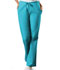 Photograph of WW Originals Women's Natural Rise Flare Leg Drawstring Pant Blue 4101-TRQW