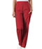 Photograph of WW Originals Women Natural Rise Tapered Pull-On Cargo Pant Red 4200-REDW