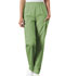 Photograph of WW Originals Women's Natural Rise Tapered Pull-On Cargo Pant Green 4200-SAGW