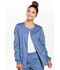 Photograph of WW Core Stretch Women Zip Front Jacket Blue 4315-CIEW