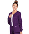 Photograph of WW Core Stretch Women's Zip Front Warm-Up Jacket Purple 4315-EGGW
