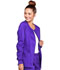 Photograph of WW Core Stretch Women's Zip Front Warm-Up Jacket Purple 4315-GRPW