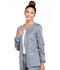 Photograph of WW Core Stretch Women's Zip Front Warm-Up Jacket Gray 4315-GRYW