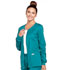 Photograph of WW Core Stretch Women's Zip Front Warm-Up Jacket Green 4315-TLBW