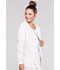 Photograph of WW Core Stretch Women's Zip Front Jacket White 4315-WHTW