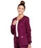 Photograph of WW Core Stretch Women's Zip Front Warm-Up Jacket Purple 4315-WINW