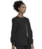 Photograph of WW Originals Women's Snap Front Warm-Up Jacket Black 4350-BLKW