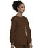 Photograph of WW Originals Women Snap Front Warm-Up Jacket Brown 4350-CHCW