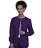 Photograph of WW Originals Women's Snap Front Warm-Up Jacket Purple 4350-EGGW