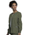 Photograph of WW Originals Women Snap Front Warm-Up Jacket Green 4350-OLVW