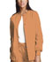 Photograph of WW Originals Women Snap Front Warm-Up Jacket Orange 4350-ORSW
